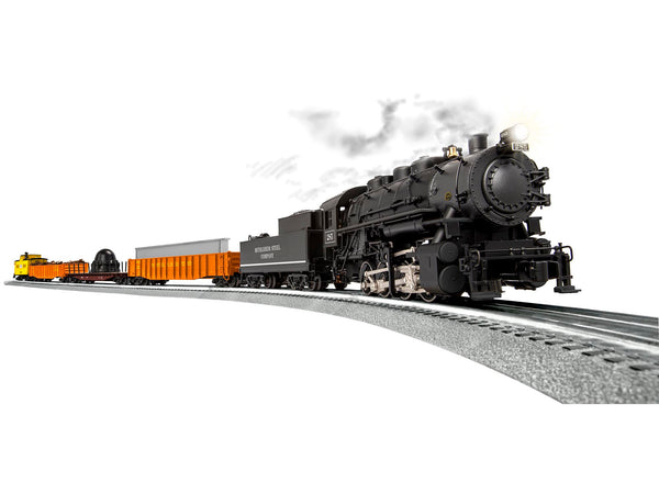 Lionel 6-83092 Steel City Switcher Set includees Bethlehem Steel Legacy 0-8-0 Steam Locomotive BTO Built to Order