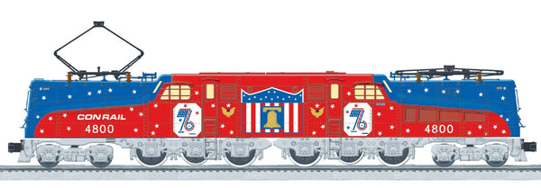 Lionel 6-83167 Conrail Bicentennial Vision Legacy Scale Riveted GG1 #4800 Built to Order BTO