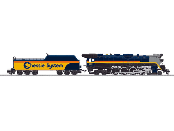Lionel 6-83203 Chessie Steam Special Legacy T1 4-8-4 Locomotive #2101 BTO Built to order