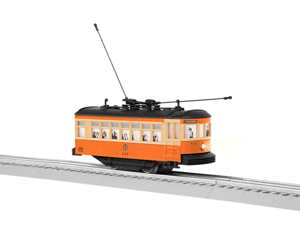 Lionel 6-83426 Johnstown Birney Trolley #117