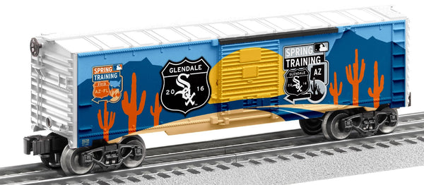 Lionel 6-83772 Chicago White Sox 2016 MLB Spring Training Boxcar