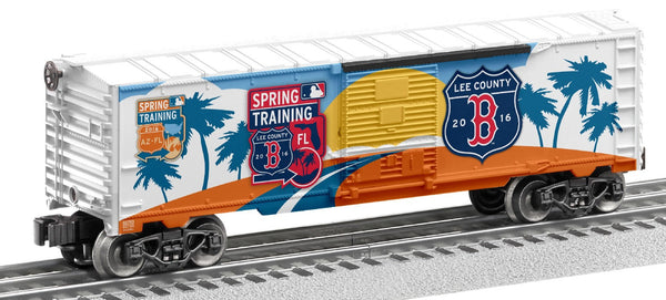 Lionel 6-83774 Boston Red Sox 2016 MLB Spring Training Boxcar