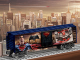 Lionel 6-83780 Man of Steel Boxcar