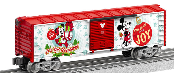 Lionel 6-83790 Disney Mickey Mouse Happy Holidays Boxcar