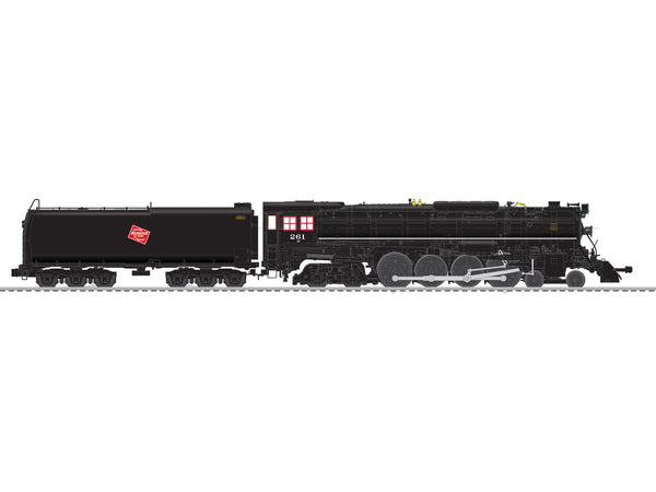 Lionel 6-84064 Milwaukee Road Legacy S3 Northern Steam Locomotive #261