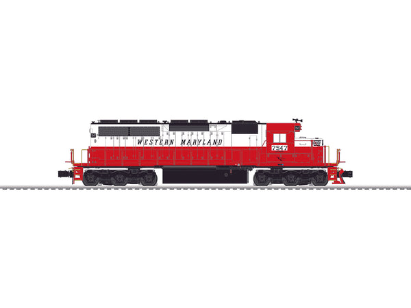 Lionel 6-84268 Western Maryland Legacy SD40 Diesel Locomotive #7547 Built to Order BTO