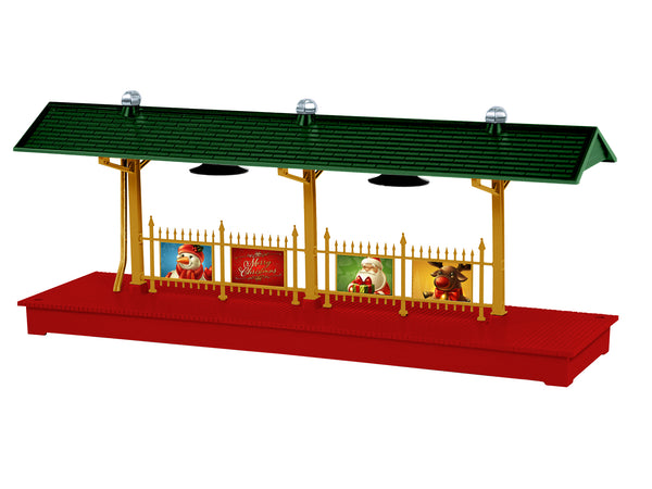 Lionel 6-84372 Illuminated Christmas Station Platform