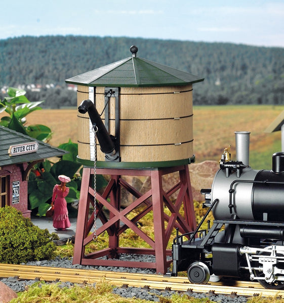 PIKO 62710 River City Water Tower Built-Up Building (G-SCALE)