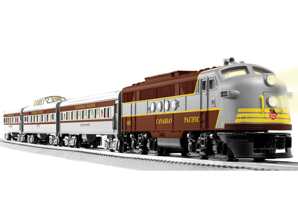 Lionel 6-38233 Canadian Pacific FT Passenger Set includes 3 cars LOCO #1410  - AZ