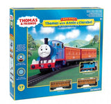 Bachmann 00642 Thomas the Tank Engine with Annie and Clarabel HO Scale Ready to Run Train Set