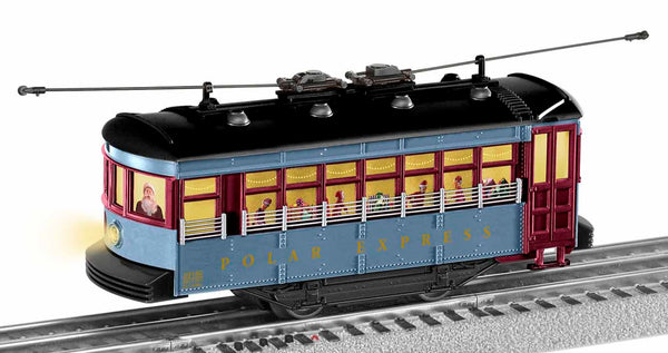 Lionel 1923130 The Polar Express Trolley Set with Announcement Track Limited
