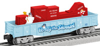 Lionel 6-81427 Frosty the Snowman Parade car AND 6-81426 Frosty the Snowman Animated Gondola