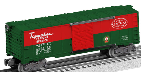 Lionel 6-82739 North Pole Central Boxcar #6464-125