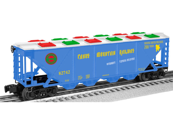 Lionel 6-82742 Candy Mountain Christmas Quad Hopper Car