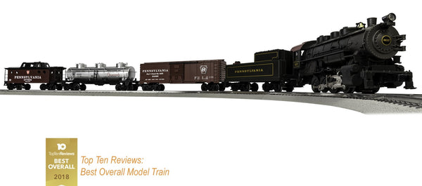 Lionel 6-83984 Pennsylvania Railroad PRR 0-8-0 Steam Locomotive #6637 Flyer Ready to Run Train Set O Gauge