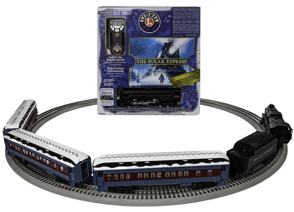 Lionel 6-84328 Polar Express Set with Snow on Roof Ready To Run O Gauge Remote Train Set