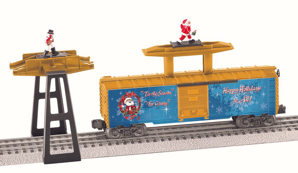 Lionel 6-84340 Santa and Snowman Operating Boxcar