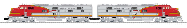 Lionel 6-84641 Santa Fe E6 AA Set Built To Order BTO #12 / #13 Limited