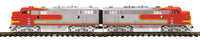 MTH 70-2109-1 Santa Fe F-7 AA Diesel Set With Proto-Sound 3.0 - Cab No. 311L, 310C G Gauge RailKing One Gauge