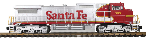 MTH 70-2117-1 Santa Fe (War Bonnet)  Cab No. 868 Dash-8 Diesel Engine (6-Wheel Truck) With Proto-Sound 3.0 Limited