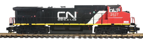 MTH 70-2125-1 Canadian National CN Dash-8 Diesel Engine (6-Wheel Truck) With Proto-Sound 3.0 -   Cab No. 2527 G Gauge RailKing One Gauge
