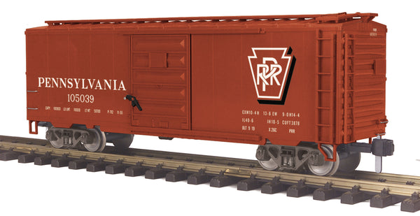MTH 70-74079 One Gauge Pennsylvania PRR 40' Boxcar #105039 G ONE Gauge
