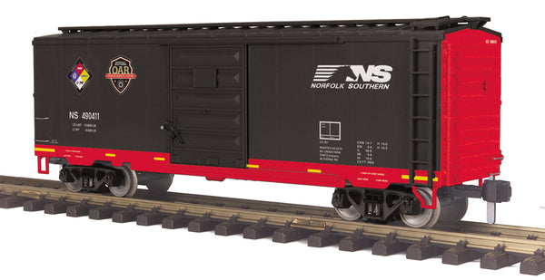MTH 70-74091 Norfolk Southern NS First Responders  40' Box Car No.: 490411 G Gauge RailKing One Gauge