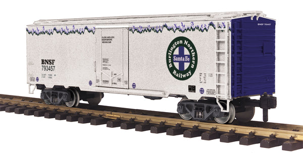 MTH 70-78043 BNSF Reefer Car #793457 - G Gauge RailKing One Gauge