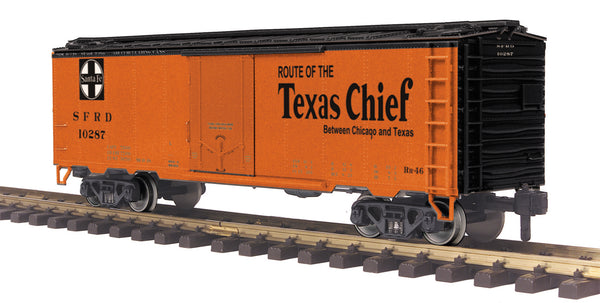MTH 70-78050 Santa Fe Reefer Car #10287 G Gauge RailKing One Gauge