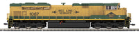 MTH 80-2244-1 Reading (NS Heritage)  SD70ACe Diesel Engine (Comfort Cab) w/Proto-Sound 3.0 - Cab No. 1067 HO Scale