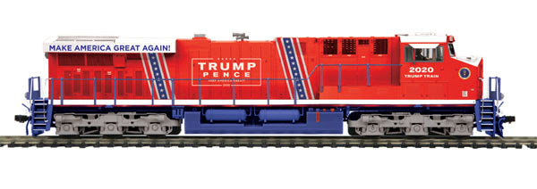 MTH 80-2415-1 Donald J. Trump ES44AC Diesel Engine w/Proto-Sound 3.0 - HO Scale Limited