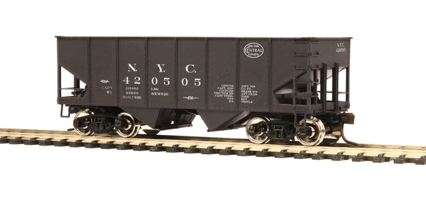 MTH 80-97003 New York Central NYC 55-Ton Steel Twin Hopper Car HO Scale