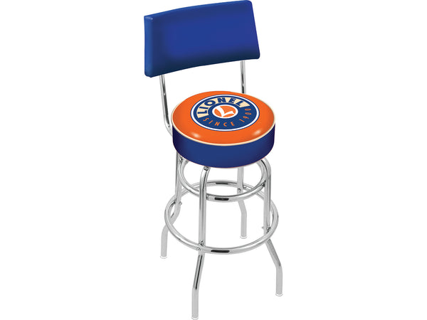 Lionel 9-42021 Lionel Bar Stool with Backrest Train chair