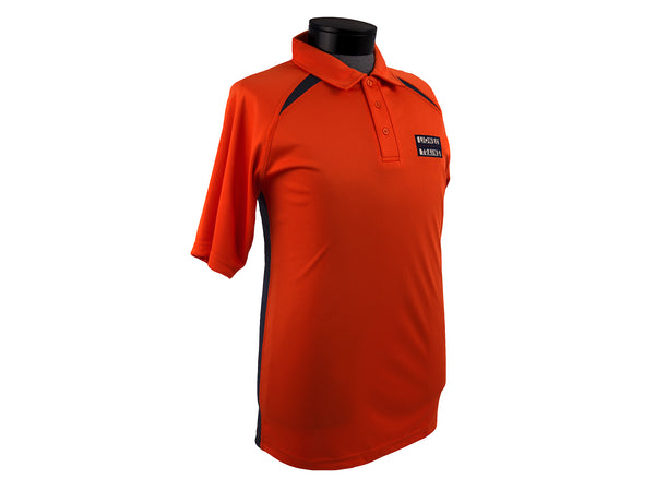 Lionel 9-51026 Lionel Electric Trains Orange Polo Shirt Adult Sizes