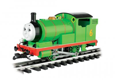 Bachmann 91402 Percy from Thomas the Tank Engine with moving Eyes Large Scale