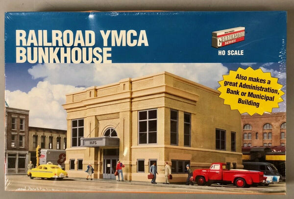 Walthers 933-2951 Railroad YMCA Bunkhouse or Headquarters HO Kit