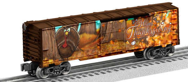 Lionel 6-83800 Happy Thanksgiving Boxcar
