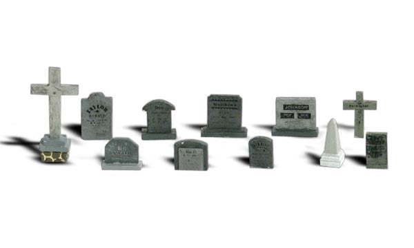 Woodland Scenics A2726 Tombstones O Scale