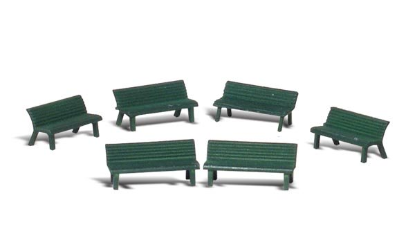 Woodland Scenics A2758 Park Benches O Scale