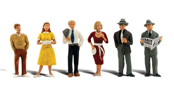 Woodland Scenics A2763 Pedestrains Scale Figures O Scale
