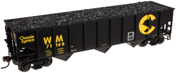 Atlas 20 001 851 Chessie System Western Maryland WM AAR 70-Ton 9 Panel Hopper #70002 HO Scale