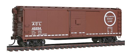 Atlas 6420-2 Atlas Master Line Atlantic Coast Line ACL USRA Steel Rebuilt Box Car, RTR - #46694 HO Scale
