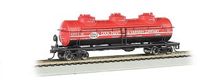 Bachmann 17145 Cook Paint & Varnishing Company 40' 3-Dome Tank Car HO Scale