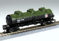 Bachmann 17146 British American 40' 3-Dome Tank Car HO Scale