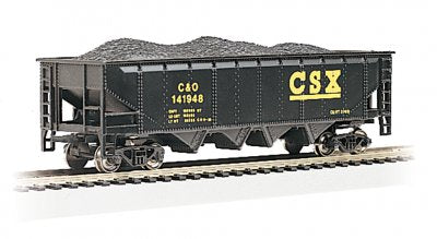 Bachmann 17618 CSX C&O 40' Quad Hopper w/load HO Scale