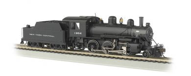Bachmann 51808 New York Central Alco 2-6-0 Steam Locomotive with DCC Sound HO Scale #1904