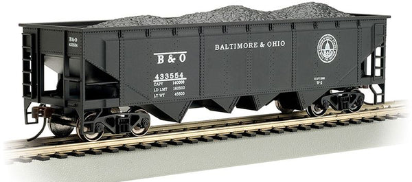 Bachmann 17612 Baltimore & Ohio B&O (Capital Dome) 40' Quad Hopper w/load HO Scale