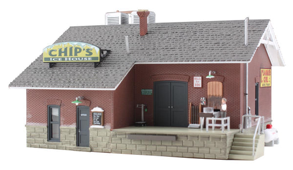 Woodland Scenics BR5028 Chip's Ice House Built-&-Ready HO Scale