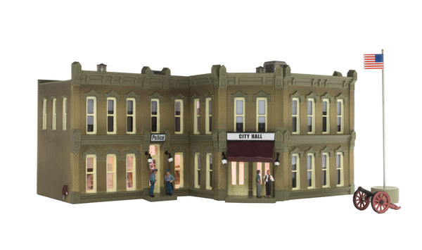 Woodland Scenics BR5030 Municipal Building Built-&-Ready HO Scale