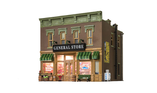 Woodland Scenics BR5841 Lubener's General Store Built-&-Ready O Scale